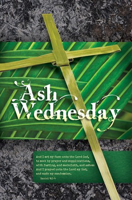 Ash Wednesday (Daniel 9:3-4 ) Bulletins, 100  -