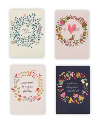 Circle of Faith, Box of 12 Assorted All Occasion Cards  -