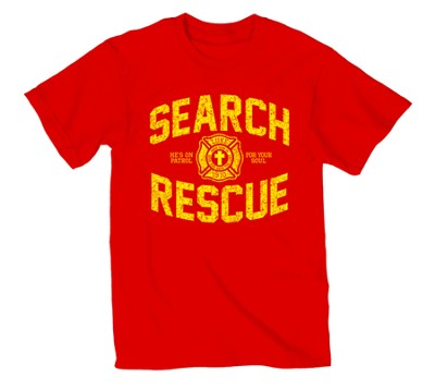 On Patrol Shirt, Red, 3X Large  -