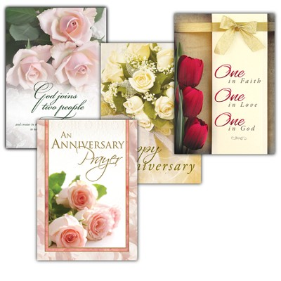 Love Everlasting, Box of 12 Assorted All Anniversary Cards  -