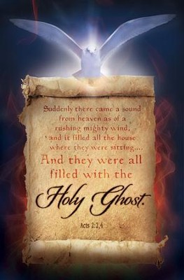 Suddenly there Came a Sound (Acts 2:2,4) Bulletins, 100  -