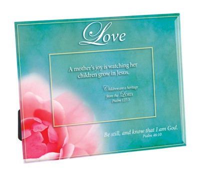 A Mother's Joy is Watching Her Child Grow in Jesus Photo Frame  -