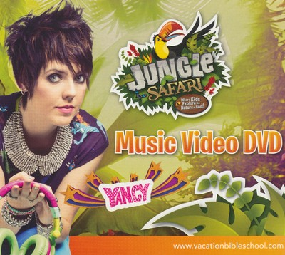 VBS Jungle Safari: Where Kids Explore the Nature of God! - Music Video DVD  -
