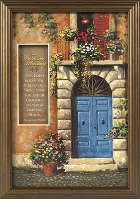 A House Blessing Framed Print  -