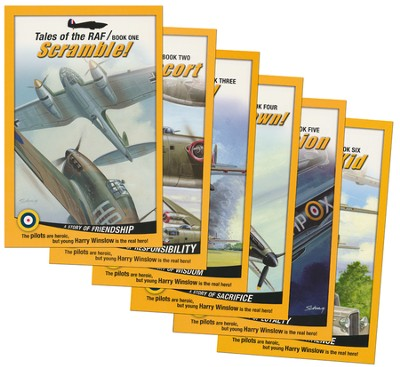 Tales of the RAF 6 Volume Softcover Set   -     By: Don Patterson