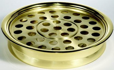 Solid Brass Communion Tray  -