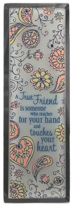 A True Friend Plaque  -