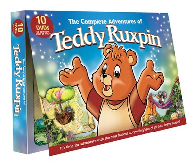 The Complete Adventures of Teddy Ruxpin, 10-DVD Set   -