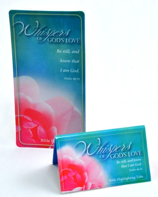 Whisper's of God's Love Bible Reference & Highlighter Sticky Tabs  -
