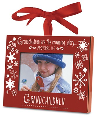 Grandchildren Photo Ornament  -