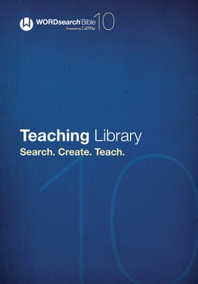 WORDsearch 10: Teaching Library  -