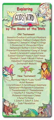 Exploring God's Word Bookmark, Books of the Bible  -