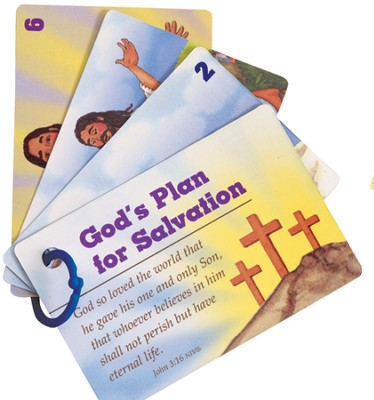 Gods Plan For Salvation, Picture Cards  -