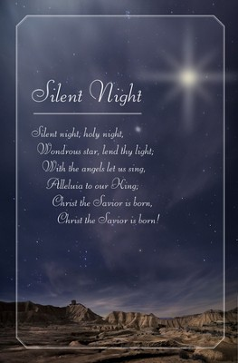 Silent Night, Holy Night Christmas Bulletins, 100  -