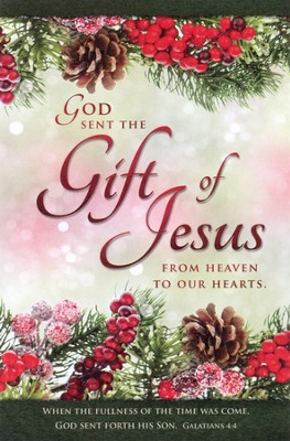 The Gift of Jesus (Galatians 4:4) Bulletins, 100  -