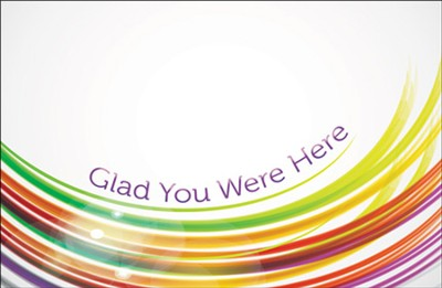 Glad You Were Here (Romans 8:28) pack of 25  -