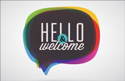 Hello & Welcome Postcards (Matthew 18:20) pack of 25  -
