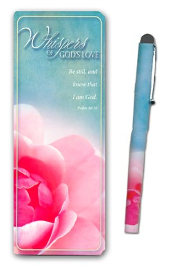 Whispers of God's Love Jumbo Bookmark and Pen Set  -