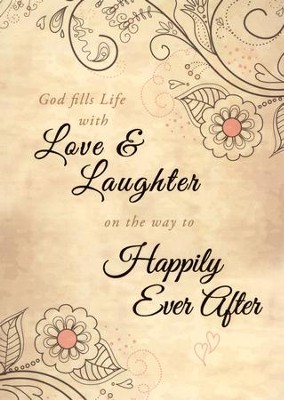 Happily Ever After Marriage Folded Certificate, 6  -