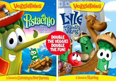 Pistachio/Lyle, the Kindly Viking VeggieTales DVD   -