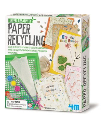 Paper Recycling Kit  -