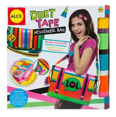 Duct Tape Messenger Bag  -