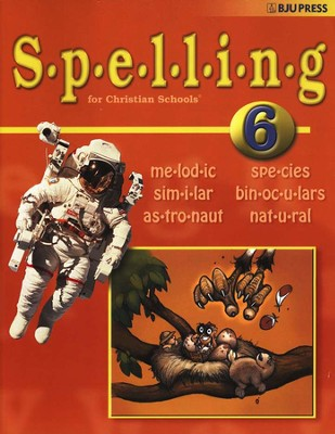 BJU Spelling 6, Student Worktext    -