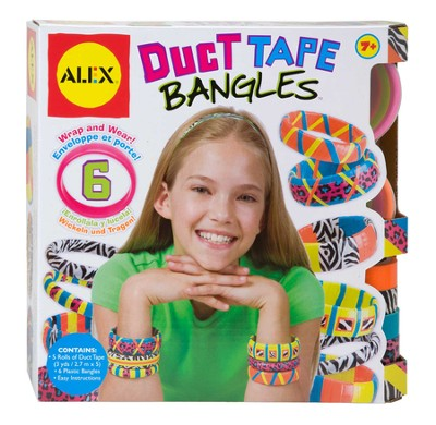 Duct Tape Bangles  -