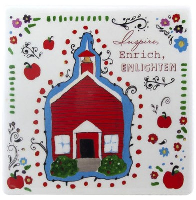 Inspire, Enrich, Enlighten Tile  -