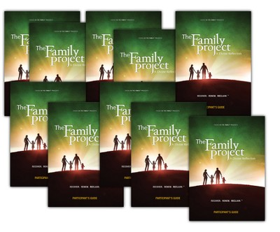 The Family Project Participant Guide bundle of 10   -