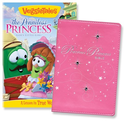 Princess Pack, Bible & DVD  -