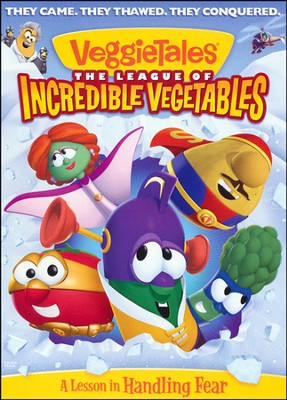 The League of Incredible Vegetables, DVD  - Slightly Imperfect  -