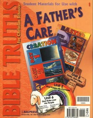 BJU Bible Truths Grade 1: A Father's Care, Student Materials   Packet  -