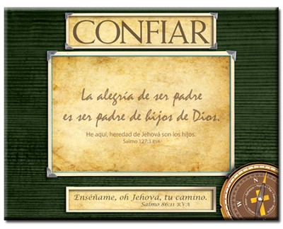 La Dirección de Dios, Marco de Foto  (God's Direction, Photo Frame)  -