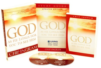 God as He Longs for You to See Him Personal Study Kit (DVD Set, 1 Book & 1 Study Guide)  -     By: Chip Ingram