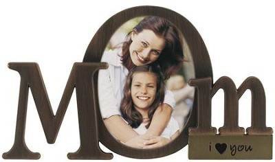 Mom I Love You Photo Frame  -