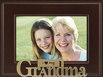 Grandma I Love You Photo Frame  -