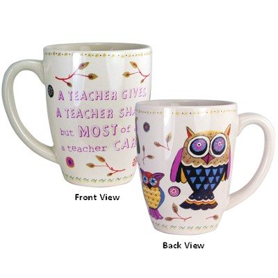 A Teacher Gives Mug  -