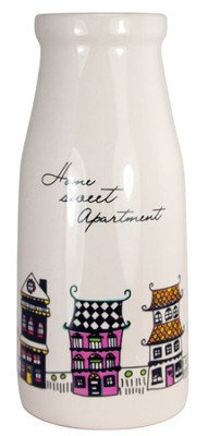 Home Sweet Apartment Vase  -