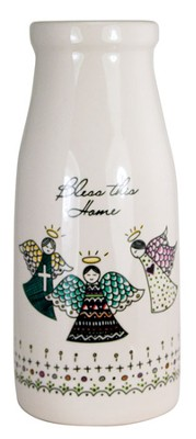Bless This Home Vase  -