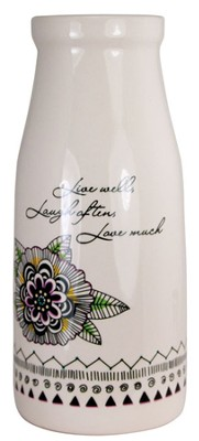 Live, Laugh, Love Vase  -