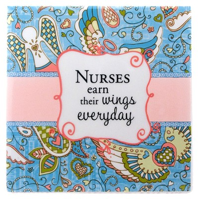 Nurses Earn Their Wings Everyday Tile  -