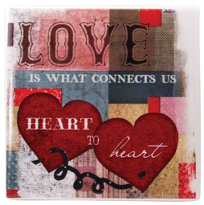 Love is What Connects Us Tile  -