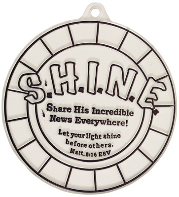 Color Your Own Suncatcher, S.H.I.N.E.  -