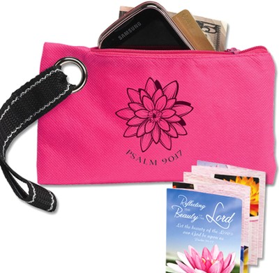 Reflecting the Beauty of the Lord Wristlet with Bilingual Accordion Fold Booklet  -