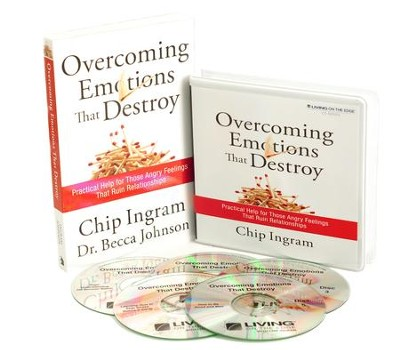 Overcoming Emotions that Destroy Individual Study Pack (1 CD Series & 1 Book)  -     By: Chip Ingram