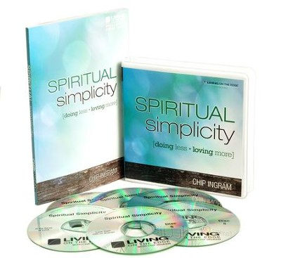 Spiritual Simplicity Individual Study Pack (1 CD Series & 1 Book)  -     By: Chip Ingram