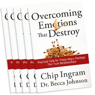 Overcoming Emotions that Destroy, Book 5 Pack   -     By: Chip Ingram