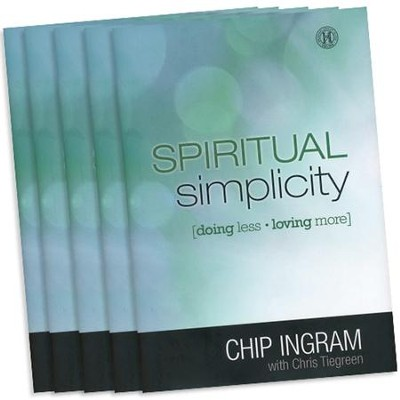 Spiritual Simplicity Book 5 Pack   -     By: Chip Ingram