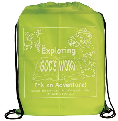 Exploring Gods Word Drawstring Bag  -